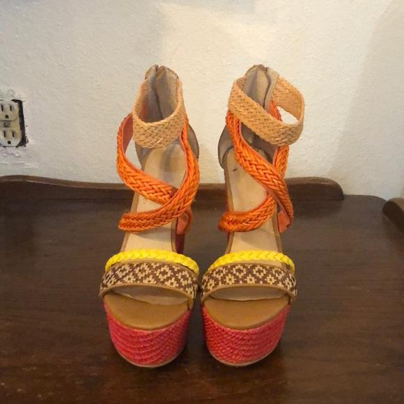 f80f0ee8e Aldo Shoes | Cute Colorful Wedges | Poshmark